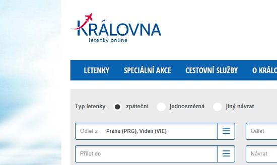 Levné letenky Královna.cz