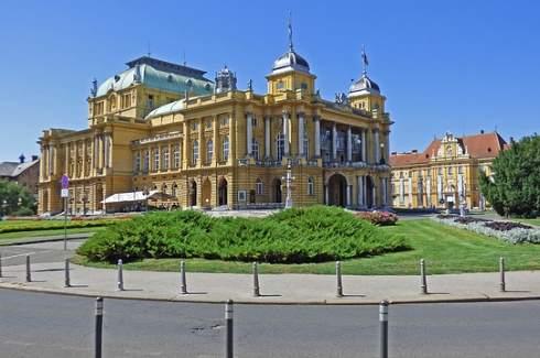 Levné letenky z Prahy do Záhřebu