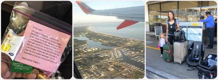 Poprvé letadlem cesta a první let