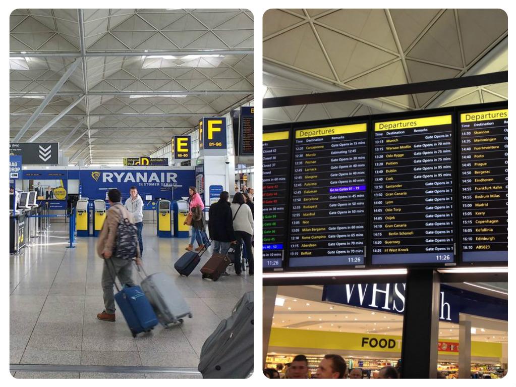 Letiště Londýn přílety a odlety