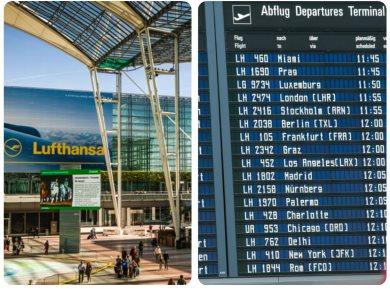 Letiště Mnichov přílety a odlety