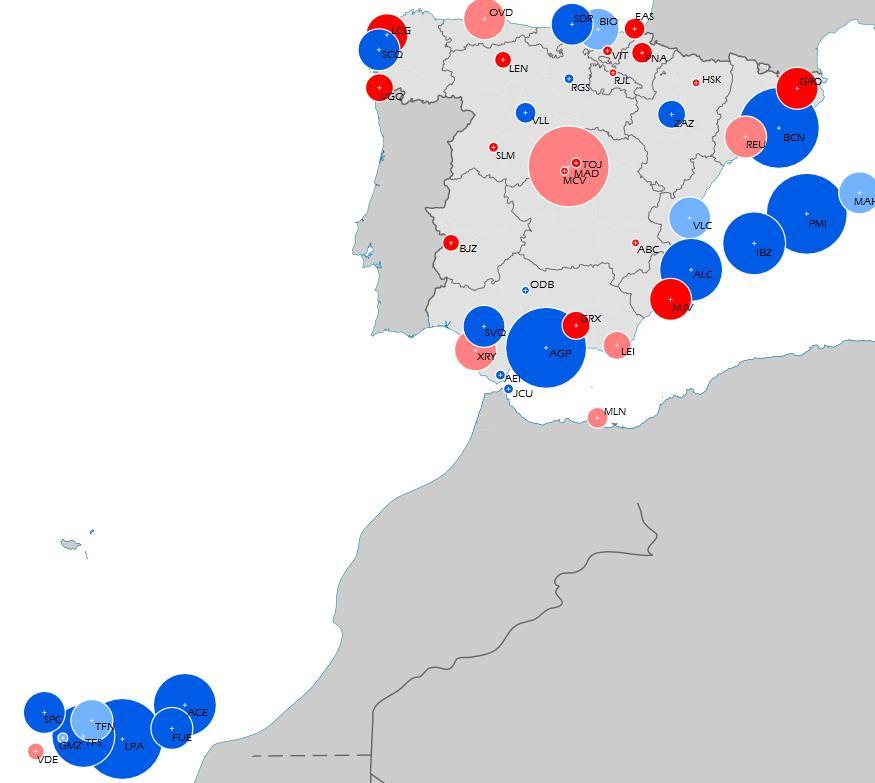Letiště ve Španělsku