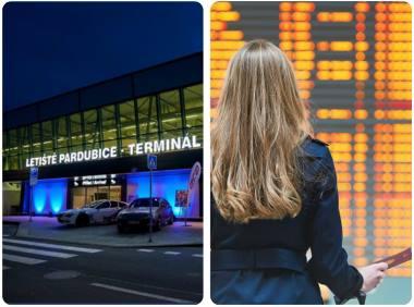 Letiště Pardubice přílety a odlety