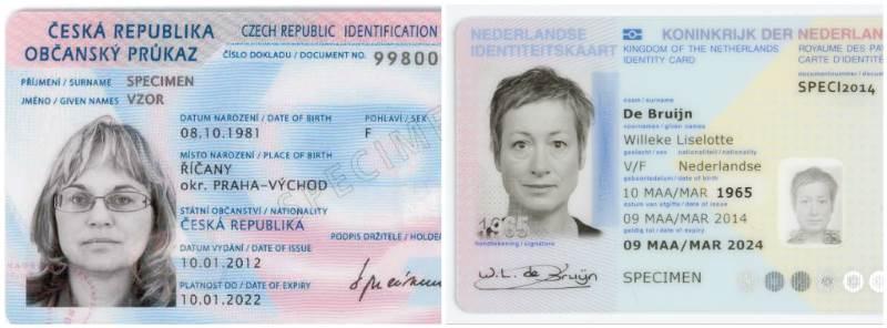 EEA National ID Card význam zkratky