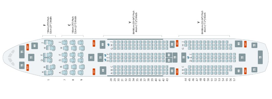 Boeing 787 sedadla letadlo Qataru