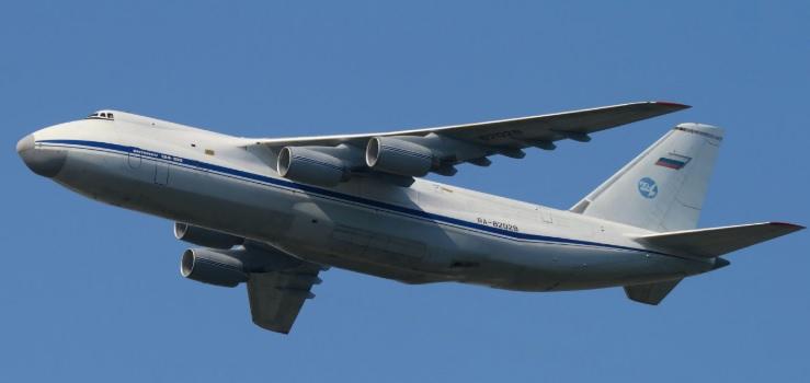 Antonov AN 124 Ruslan letadlo