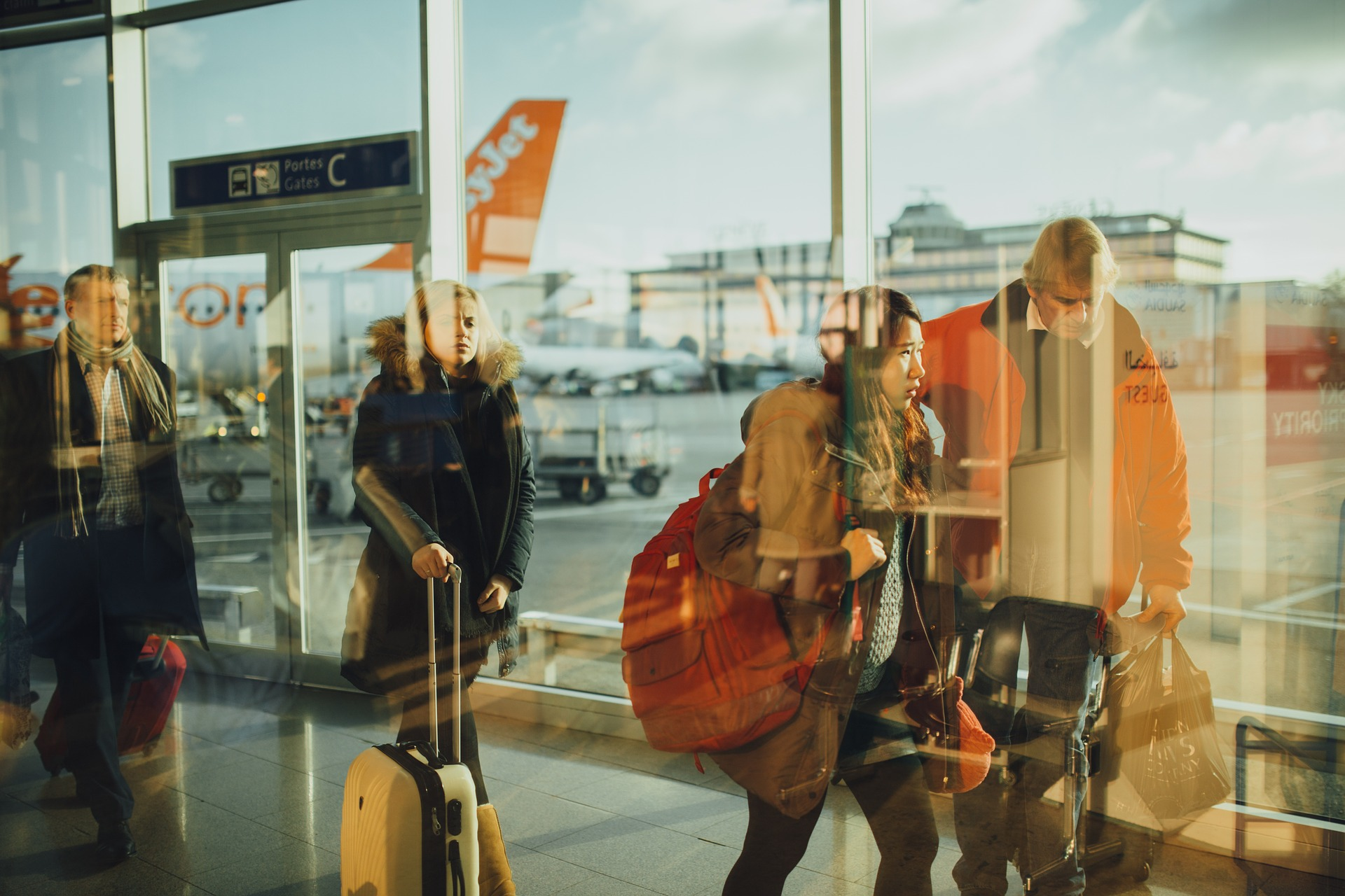 Stres na letišti